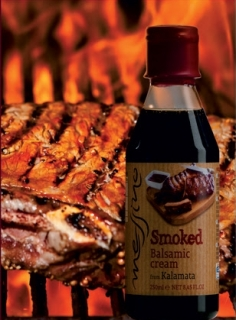 Balzamikový krém Messino - barbecue, 250 ml